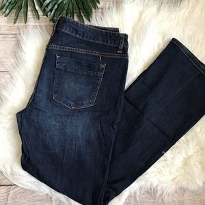 Mossimo Curvy Fit Bootcut 14R Dark Wash Jeans